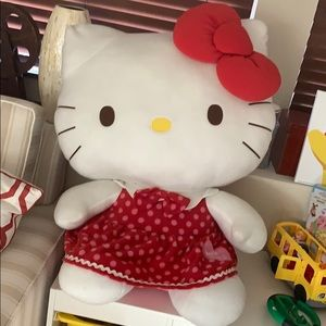 """Hello Kitty Toy 35"""" tall while sitting"""